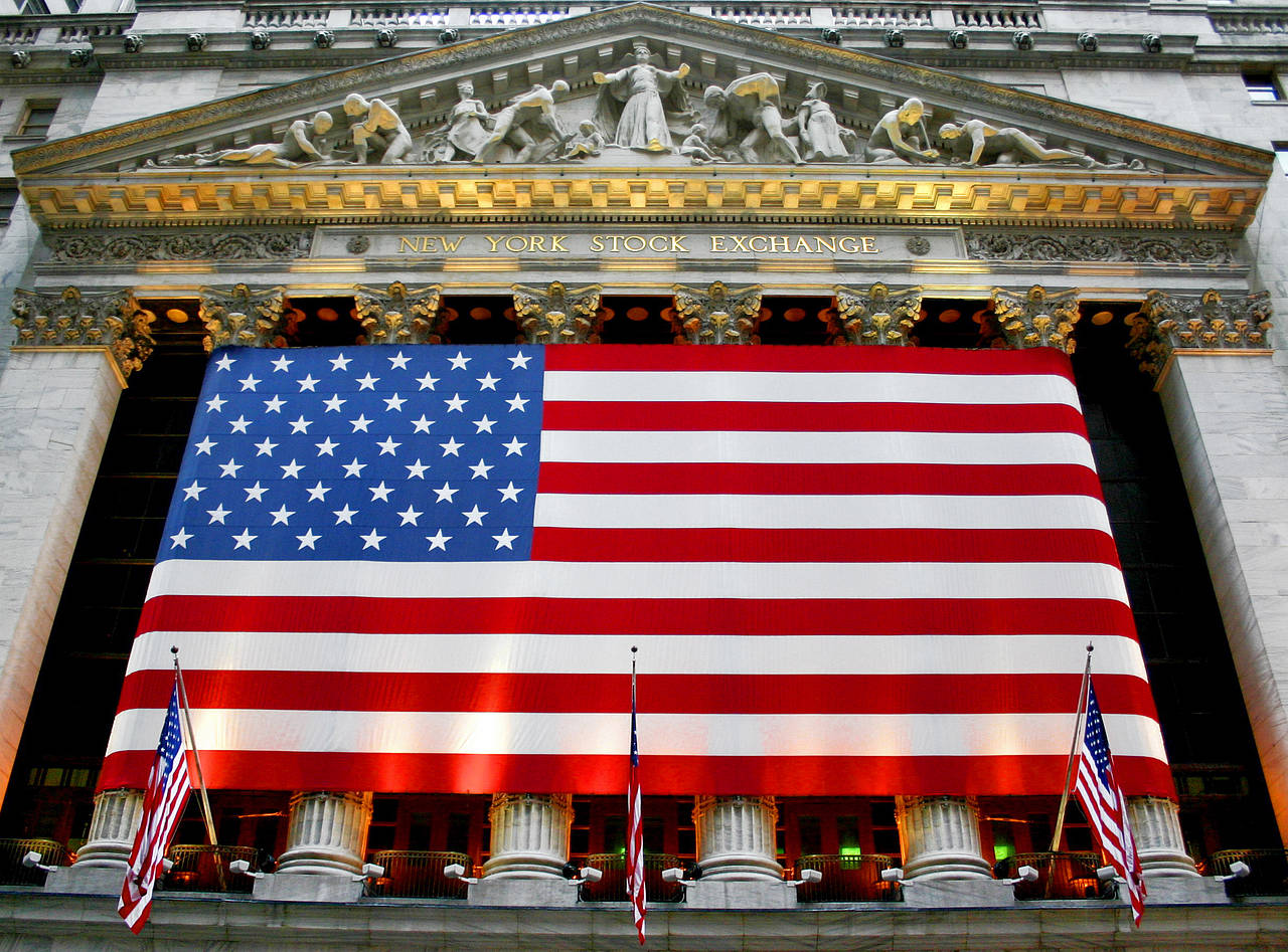 Bildansicht Attraktion  in New York Patriotisch: Die New York Stock Exchange