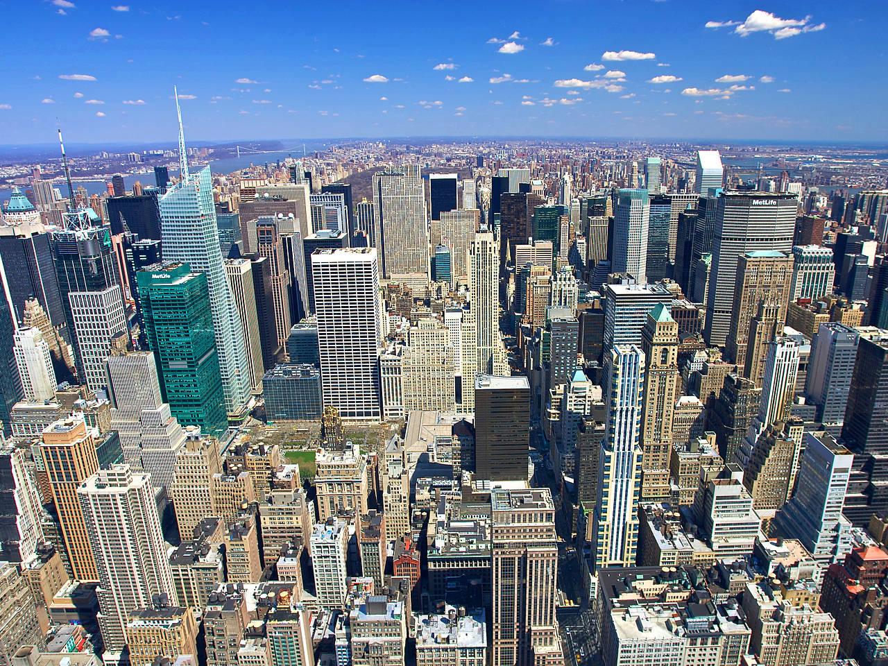 Siehe Bildnachweis Bild Als Großansicht Zu New York Foto: Empire State  Building