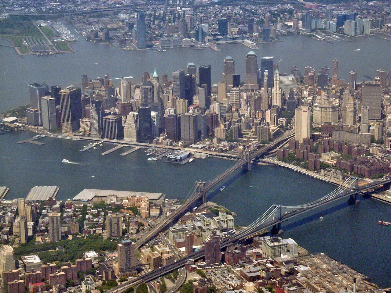 Siehe Bildnachweis Foto Als Großansicht Für New York Bild: Brooklyn Bridge