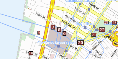 Ground Zero Stadtplan